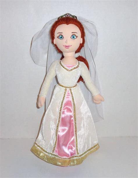 Gamis Fiona shrek fiona plush 16 quot doll wedding dress veil universal studios p55 toys plush and