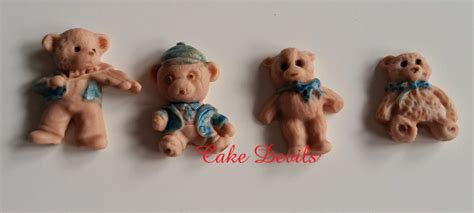 Handmade Edible Cake Toppers - baby