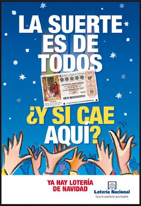 fotos graciosas loteria navidad 2014 cartel loteria my cms