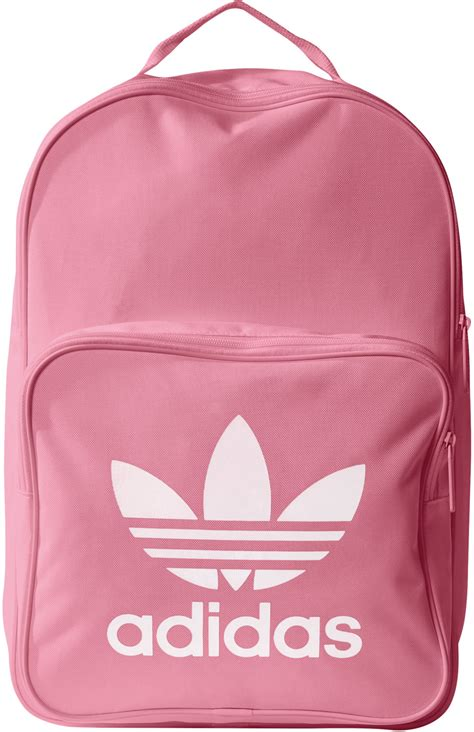 adidas classic trefoil backpack light pink adidas bp classic trefoil backpack pink