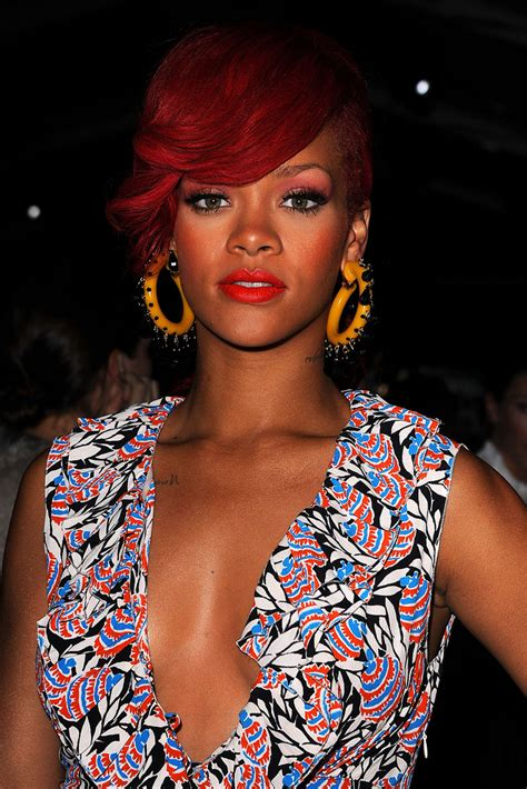 Rihanna Supersized Hoop Earrings by Rihanna Costume Hoops Rihanna Looks Stylebistro