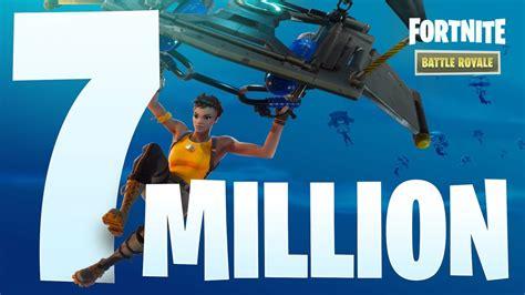 fortnite total players fortnite breaks 7 million total players niche gamer