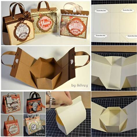 Beautiful Handmade Gifts - how to diy beautiful mini gift bags