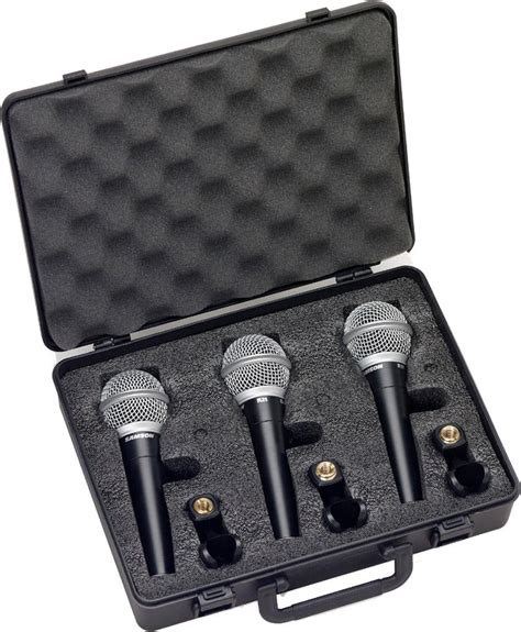 Microphone Samson R21s samson r21 dynamic vocal microphone 3 pack
