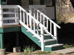 Exterior Stair Handrails Outdoor Stair Handrail Problem