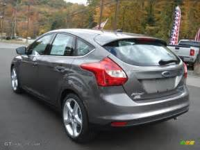 sterling gray 2013 ford focus titanium hatchback exterior