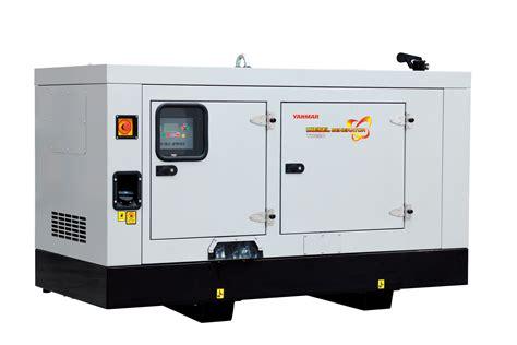 Yanmar YH Series diesel powered generator sets   BUILD