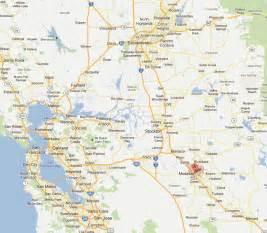 modesto california map
