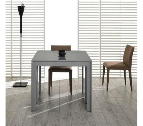 Extendable Dining Room Tables Modern Dreamfurniture Morph Modern Ultra Compact