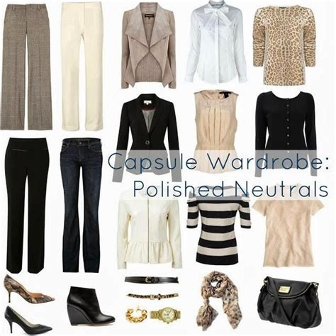 Build A Capsule Wardrobe by How To Create Capsule Wardrobes
