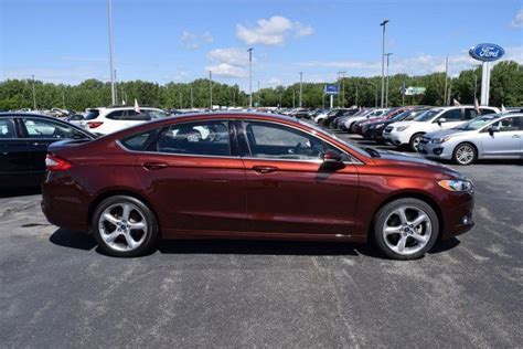 2015 Ford Fusion Turbo by 2015 Ford Fusion Se 19980 Bronze 4dr Car Intercooled