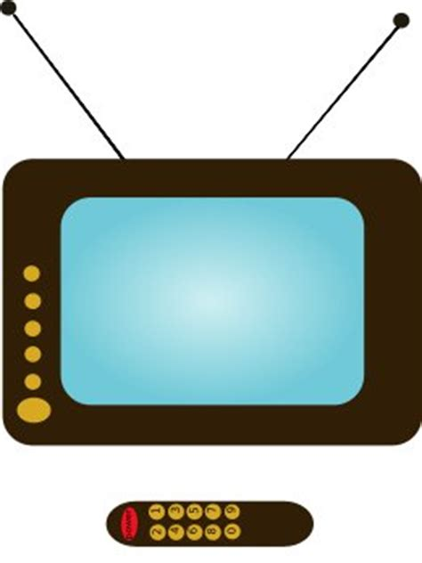 tv pictures free tv and remote clipart free clipart graphics images
