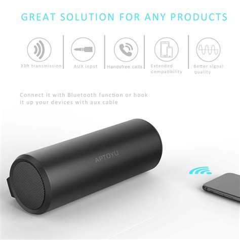 Speaker Bluetooth Portabel Hifi S2025 aptoyu bluetooth speaker portable hifi wireless player dropship