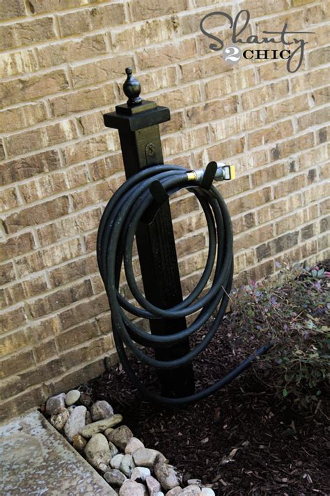 Garden Hose Stand by Hose Holder For The Garden Diy Shanty 2 Chic