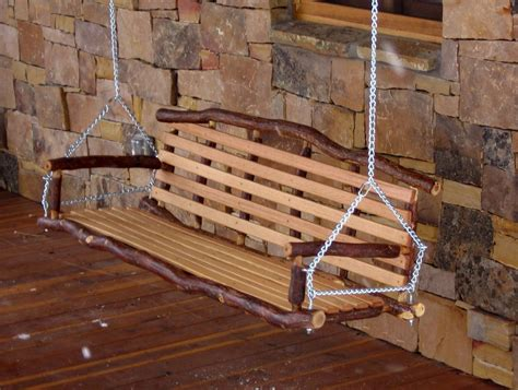log swing set plans log porch swing plans