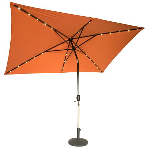 Lighted Patio Umbrellas Rectangular Patio Umbrellas Home Outdoor Decoration