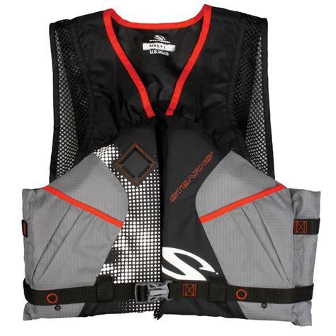 comfortable life vest stearns 2200 comfort series adult life vest pfd black