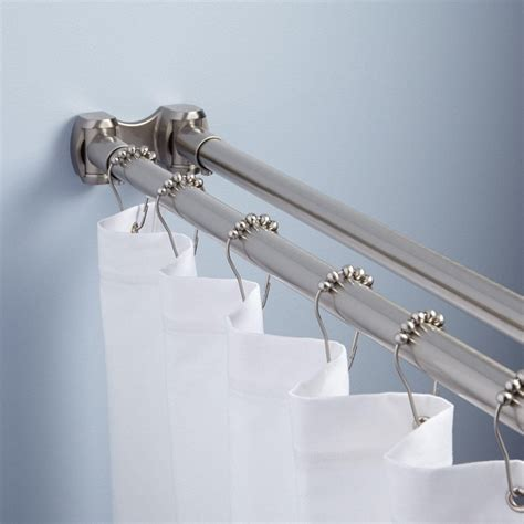 shower curtain tension rod installing shower curtain tension rod the homy design