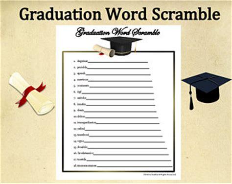 printable word search graduation graduation printable etsy