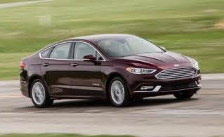 2017 ford fusion hybrid drive review car and driver
