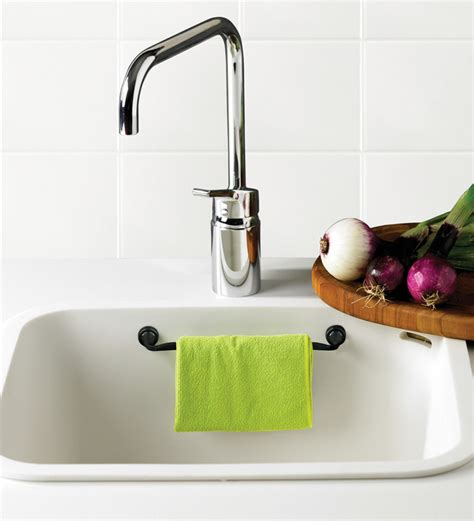 magnet kitchen sinks magnetic dish cloth sink holder for granit and corian