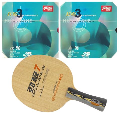 Dhs Pg 7 Power G 7 Table Tennis Blade 7 Ply Wood Ping Pong Ba sports entertainment table tennis racket combo original