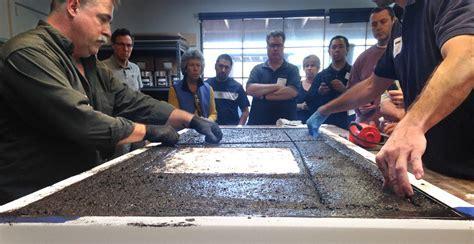 Concrete Countertop Casting Demo   CHENG Concrete Exchange