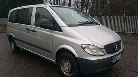 mercedes vito minibus diesel 9 seater family car in
