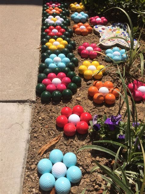 golf flowers lawn decoration california drought