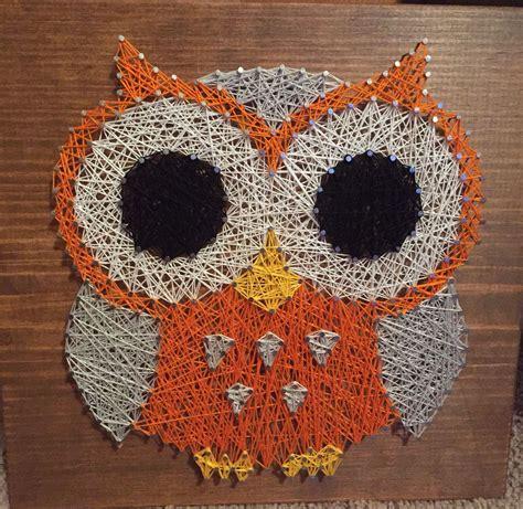 Owl String Pattern - string owl