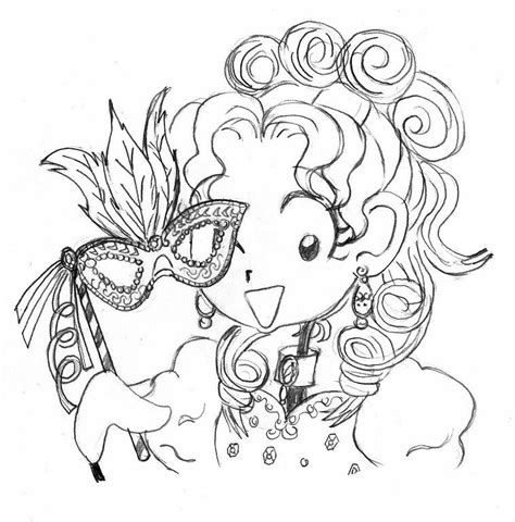 free how to draw nikki maxwell coloring pages