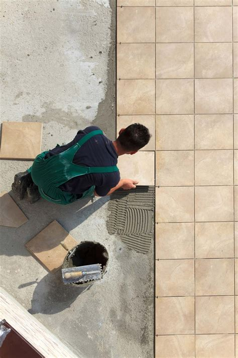 Tile Floor On Concrete Slab by Laying Floor Tiles On Concrete Slab Tiles Flooring