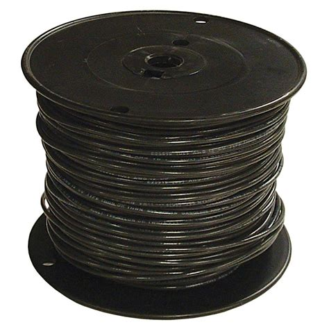 southwire 500 ft 1 black stranded cu simpull thhn wire