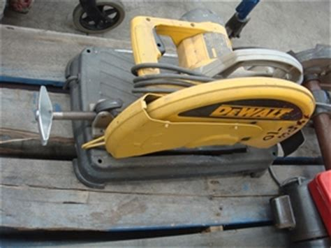 dewalt drop saw bench dewalt dw 871 xe bench top drop saw 14 quot blade size 240v