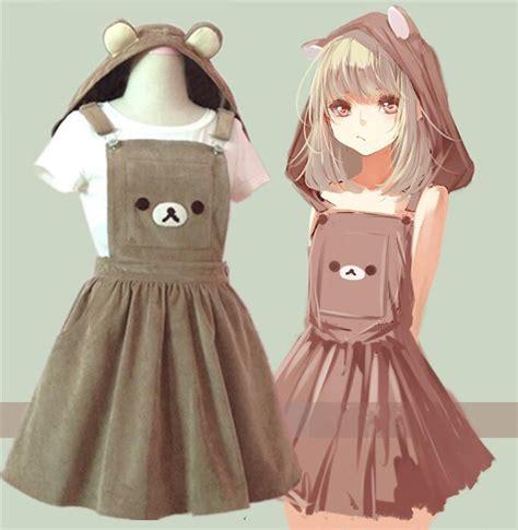 Rilakuma Kid Jaket S hooded braces skirt 183 fashion kawaii japan korea 183 store powered by