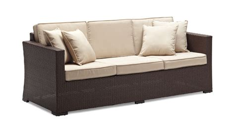 strathwood griffen all weather wicker 3 seater