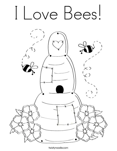 coloring book live i bees coloring page twisty noodle