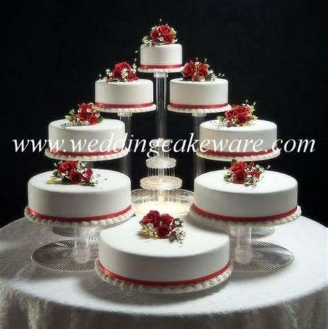 Clear Wedding Cake Stands   eBay