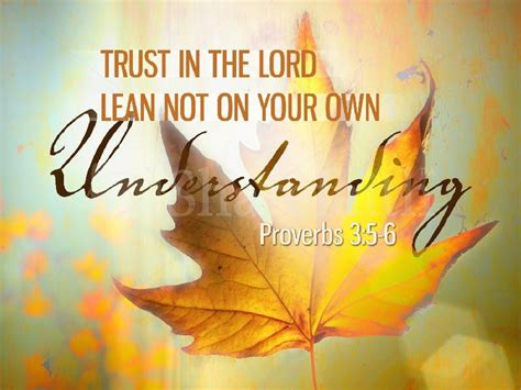 Word For Today Trust In The Lord