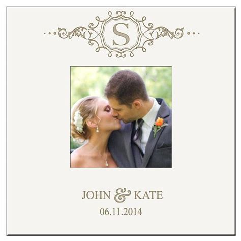 Wedding Albums For 4x6 Photos by Personalized Monogram Wedding Photo Album Holds 200 4x6 Photos