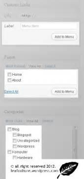 membuat menu dropdown pada wordpress cara membuat menu drop down di blog wordpress leafculture