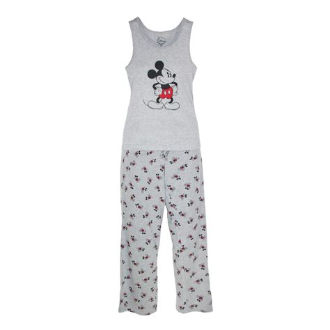 Pajamas All Mickey disney mickey mouse womens tank and pant pajama set by ctm