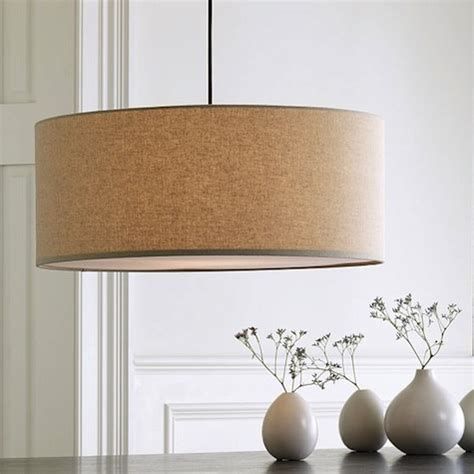 Drum Lights For Kitchen Lighting New Drum Pendants At West Elm Drum Pendant Diffusers And Pendant Lighting