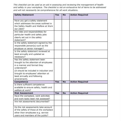 vehicle safety inspection checklist template resumess
