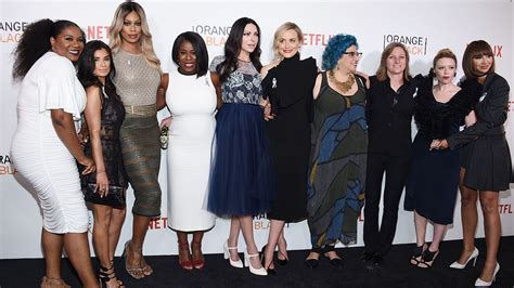 list of orange is the new black characters wikipedia orange is the new black cast fetes premiere of emotional