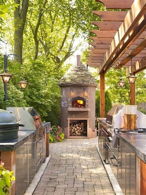 outdoor kitchen designs with pizza oven pizza oven and outdoor kitchen dream house pinterest