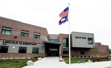 lincoln elementary school district 27 ap wyoming celebrates dedication at lincoln elementary