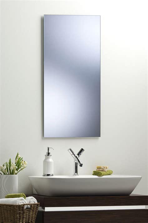 plain mirror for bathroom bathroom mirror modern stylish rectangular hang both ways