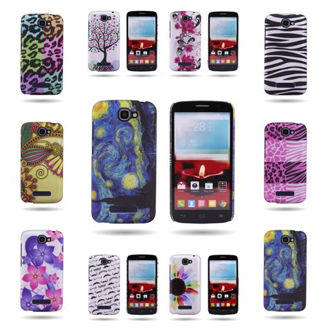 Hardcase Alcatel One Touch Flash High Quality Hardcase Free Sp for alcatel one touch fierce 2 pop icon back design phone cover ebay
