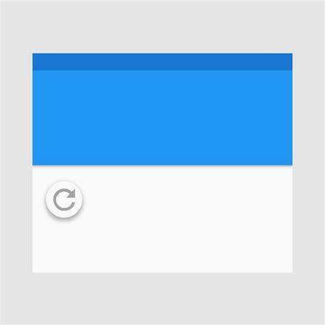 refresh pattern swipe to refresh patterns google design guidelines